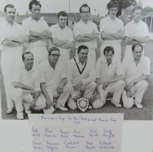 Timsbury Cricket Club 1969