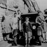 Abbot's bread van in Maggs Hill