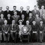Timsbury Male Voice Choir in 1949