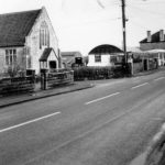 Congregational Chapel and Timsbury Service Station