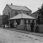 View of Tabor Chapel. The single storey building by the chapel was used as a parish office by Henry Cox when he was Overseer and Parish Clerk 1918-24.