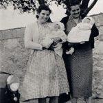 District Nurses 1950s - Nurse Evans (left) and Nurse Pethick (right)