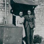 Laurence Berry and Doris Gregory at 2 Foundry Cottages