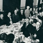 Timsbury Male Voice Choir annual dinner about 1950