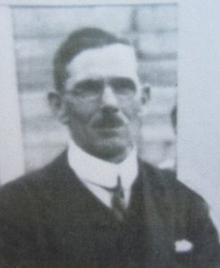 Albert Lewis who succeeded Albert Arnold as Headteacher at the Old school on South Road.