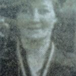Mrs Greenland, who was senior mistress when the senior school moved from South Road to Lansdown View.