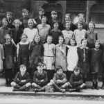 Old school on South Road pupils 1928