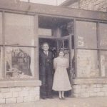 Cliff and Kitty Hodder's shop in South Road