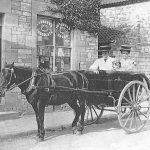 Hodder's pony trap South Road