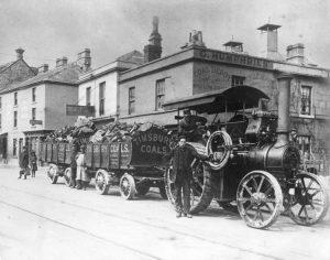 Timsbury Coal Wagons at Twerton