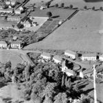 Aerial view of Lansdown Crescent 1952