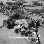 Aerial view of Parish's House 1952