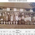 Mr Abbotts Class 1973-4