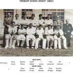 Timsbury Senior School Cricket Team 1960-1