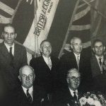 British Legion Officials and Committee 1950s