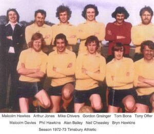 TAFC First Team 1972-3