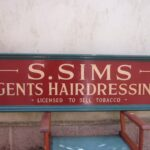 Sign from Sydney Sims Hairdressers
