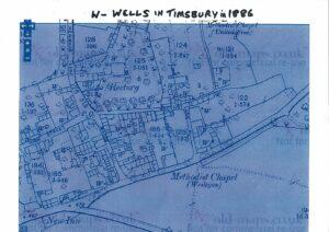 Wells in Timsbury in 1886